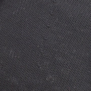 CHANEL #46 Crew Neck Short Sleeve Knit Tops Black Cotton