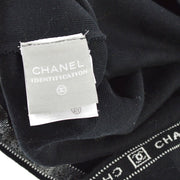 CHANEL #38 CC Sport Line Short Sleeves One Piece Dress Black 04P