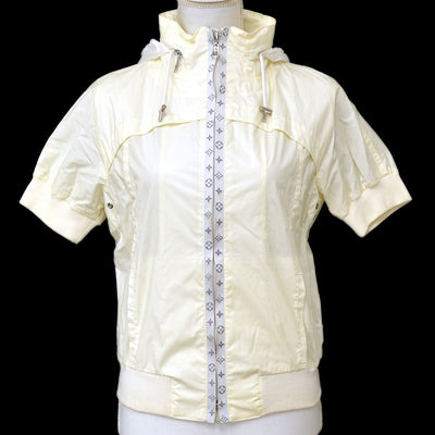 Louis Vuitton Logos Zip-up Short Sleeve Jacket White #34
