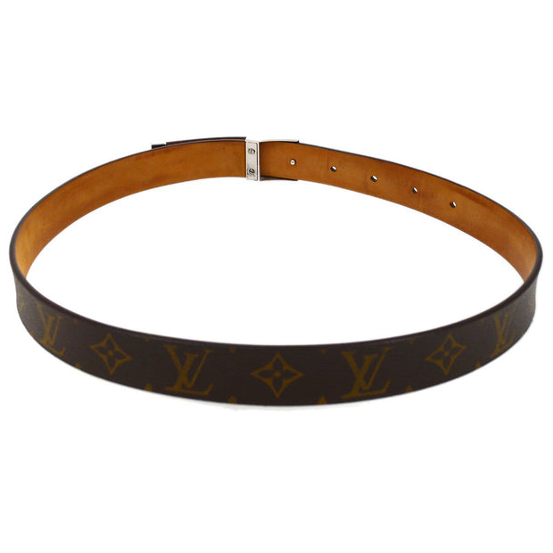 VUITTON Ceinture Carre Buckle Belt Monogram M6801