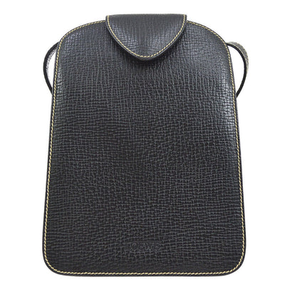 LOEWE Cross Body Shoulder Bag Black