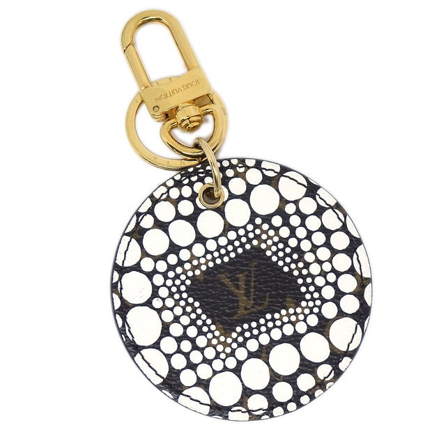 LOUIS VUITTON YAYOI KUSAMA MONOGRAM PUMPKIN DOTS KEY HOLDER M66739