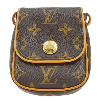 LOUIS VUITTON POCHETTE CANCUN SHOULDER BAG POUCH MONOGRAM M60018