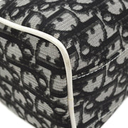 Christian Dior Trotter Cosmetic Pouch Black White