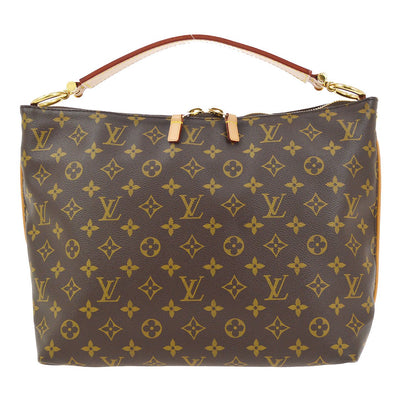 LOUIS VUITTON HOBO SULLY PM SHOULDER BAG PURSE MONOGRAM M40586