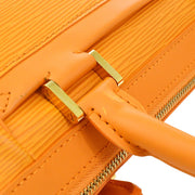 LOUIS VUITTON DHANURA PM 2WAY HAND BAG ORANGE EPI M5891H