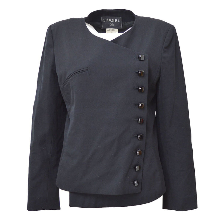 CHANEL #38 Gabrielle Button Double Breasted Long Sleeve Jacket