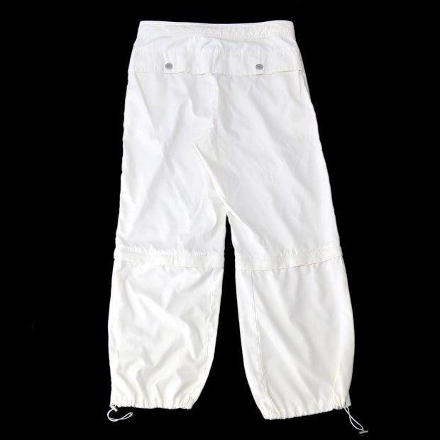 CHANEL #40 Sport Line Logos Pants White