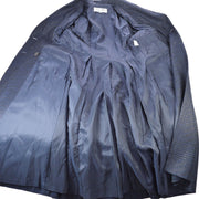 Christian Dior #9 Long Sleeve Double Breasted Coats Navy