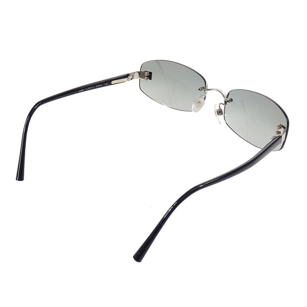 CHANEL CC Sunglasses Eye Wear Black