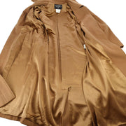 CHANEL 96A #38 Long Sleeve Jacket Coat Brown