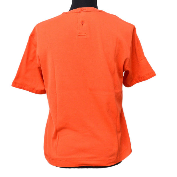 Christian Dior Sports #S Short Sleeve Tops T-Shirt Orange