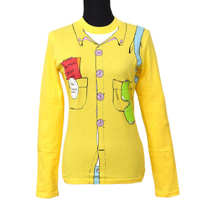 Christian Dior Long Sleeve Shirt Tops Yellow
