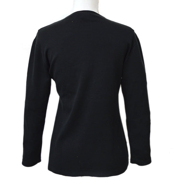 CELINE Long Sleeve Tops Black #40