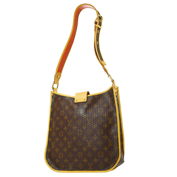 LOUIS VUITTON MUSETTE SHOULDER BAG ORANGE MONOGRAM PERFO M95174