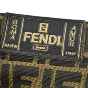 FENDI Zucca Pattern Short Pants Brown