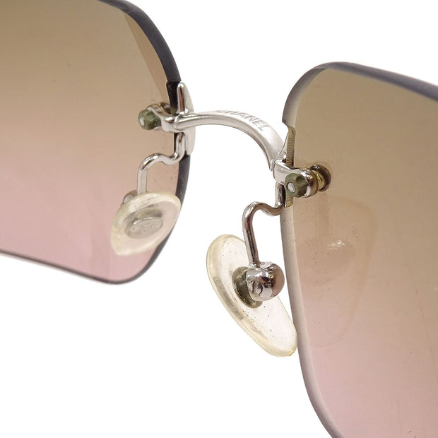 CHANEL Sunglasses Eye Wear Pink