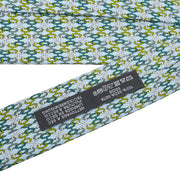 HERMES Cravate Twill Neck Tie Light Blue