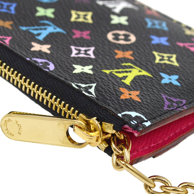 LOUIS VUITTON POCHETTE CLES COIN CASE MULTICOLOR M93735