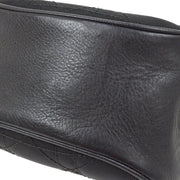 Christian Dior Trotter Hand Bag Pouch Black