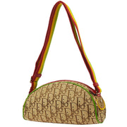 Christian Dior Trotter Shoulder Bag Rasta Color