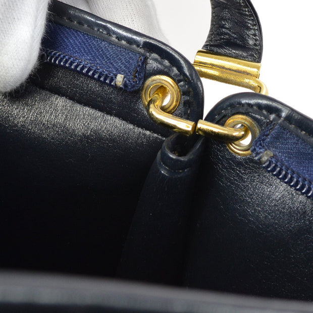 Christian Dior Shoulder Bag Navy