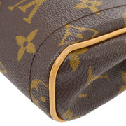 LOUIS VUITTON POCHETTE BEVERLY SHOULDER BAG MONOGRAM M40122