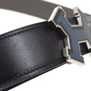 HERMES Constance Reversible Belt #90 Traurillon Clemence Box calf