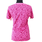 LOUIS VUITTON Cherry Blossom Short Sleeve Shirt Pink #XS