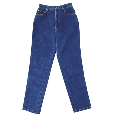 Yves Saint Laurent Denim Long Pants Indigo #40