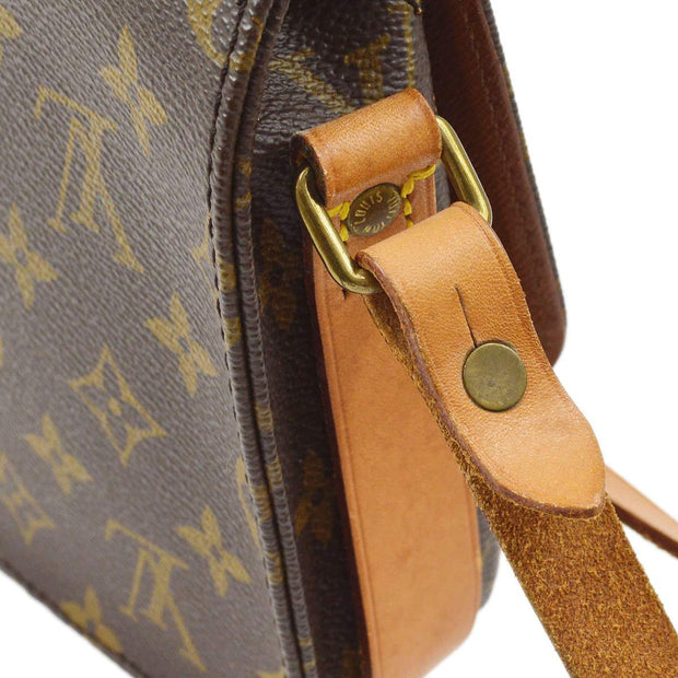 LOUIS VUITTON MINI CARTOUCHIERE SHOULDER BAG MONOGRAM M51254