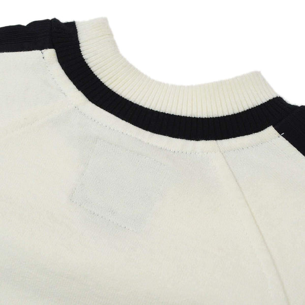 CHANEL Long Sleeve Tops White #34