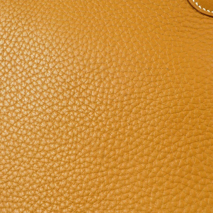 HERMES KELLY SPORT GM Shoulder Bag Brown Ardennes