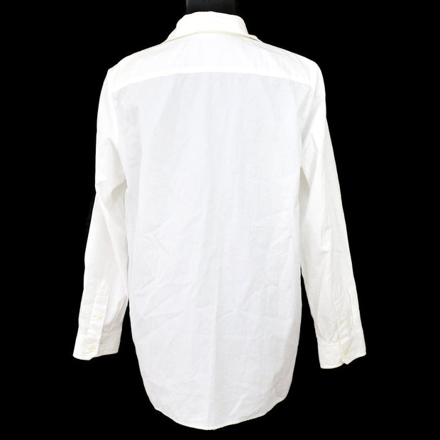 HERMES by MARGIELA Long Sleeve Shirt Tops White #36