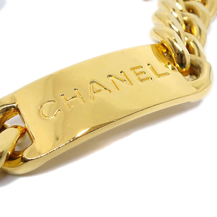 CHANEL Medallion Gold Chain Belt