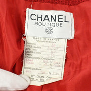 CHANEL 29 #40 Double Breasted Jacket Red