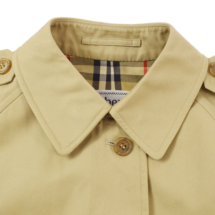 Burberry Trench Coat Beige Single Breasted