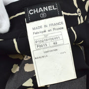 CHANEL 98P #42 Tops Shirt Black