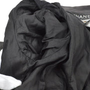 CHANEL 95A #36 Set Up Suit Jacket Skirt Black