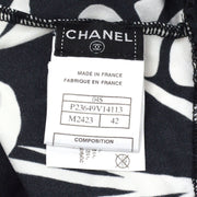 CHANEL 04S #42 Halter Neck Sleeveless Dress Swimwear Swimsuit Black