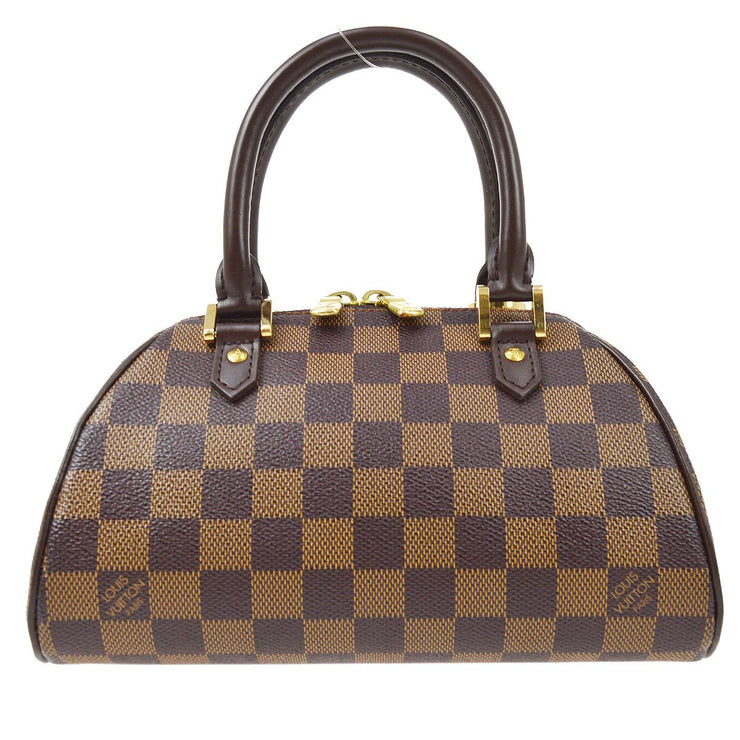 LOUIS VUITTON RIVERA MINI HAND BAG DAMIER N41436