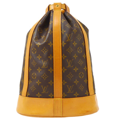 LOUIS VUITTON RANDONNEE PM DRAWSTRING SHOULDER BAG M42243
