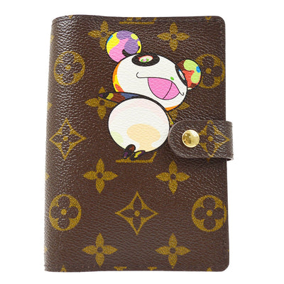 LOUIS VUITTON AGENDA PM NOTEBOOK COVER MONOGRAM PANDA R20011