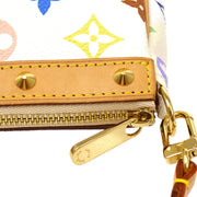 LOUIS VUITTON POCHETTE ACCESSOIRES HAND BAG MULTI-COLOR M92649