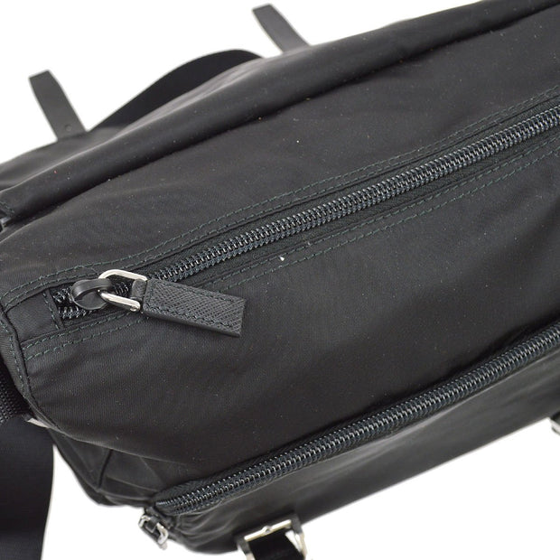 PRADA Shoulder Bag VELA NERO Black