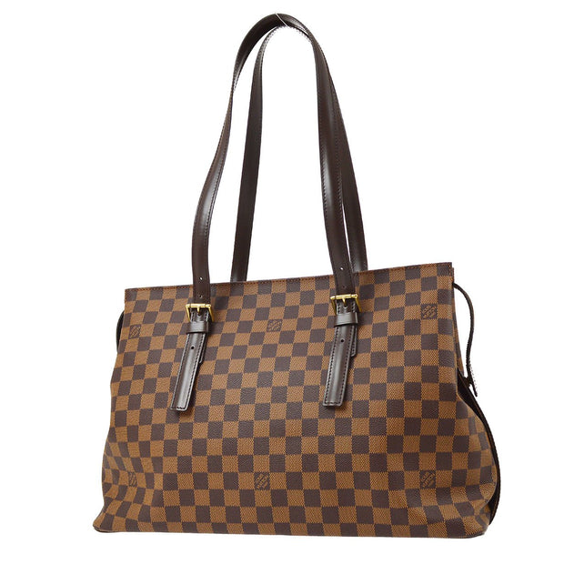 LOUIS VUITTON CHELSEA SHOULDER TOTE BAG DAMIER N51119