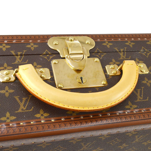 LOUIS VUITTON BISTEN 60 ATTACHE HARD CASE TRUNK MONOGRAM M21326
