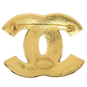 CHANEL Bijou Brooch Pin Gold Corsage 95P