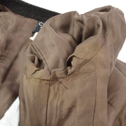 CHANEL 96A #38 Collarless Jacket Brown
