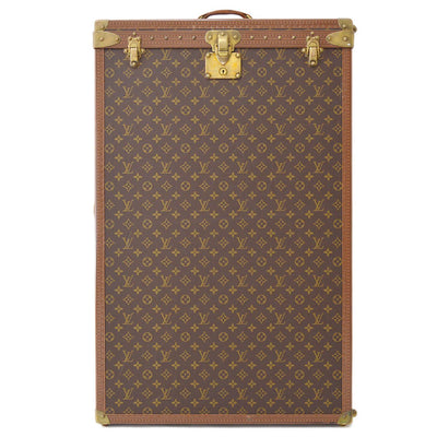LOUIS VUITTON TRAVEL CLOTHES STORAGE TRUNK HARD CASE BAG MONOGRAM